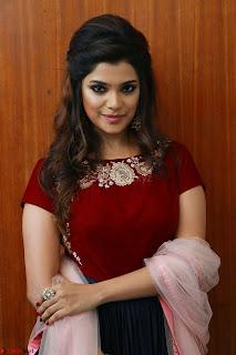 Actress Aathmika in lovely Maraoon Choli ¬  Exclusive Celebrities galleries 097.jpg