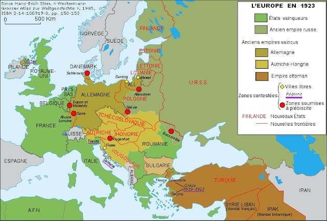 Conflits territoriaux post-1919