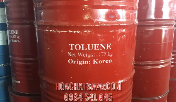 Dung môi Toluene TOL - dung môi pha sơn công nghiệp