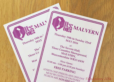 Giveaway - A pair of tickets to 2016 Quilts UK Malvern Quilt Show