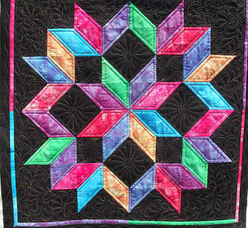 Beautiful Skills Crochet Knitting Quilting Carpenter Star Quilt