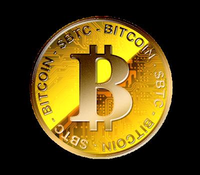 Bitcoinのフリー素材(金貨ver)