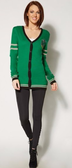 Top 20 Harry Potter Wishlist Items that I need in my life hogwarts slytherin house cardigan sweater
