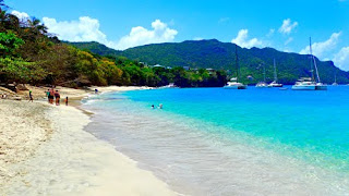 Unspoiled Princess Margaret Beach Bequia St Vincent The Grenadines Caribbean