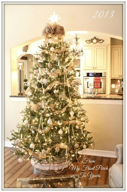 French Famrhouse-Christmas Tree Inspiration-From My Front Porch To Yours