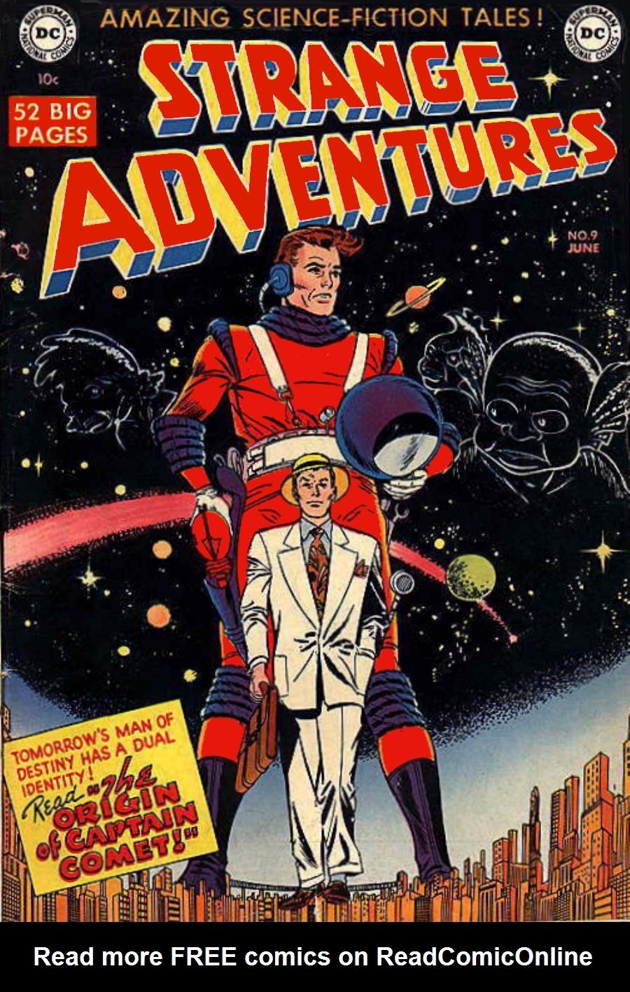 Strange Adventures (1950) issue 9 - Page 1