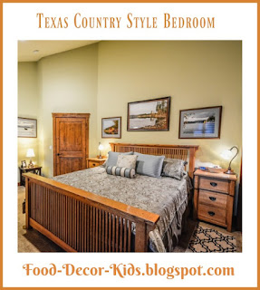 Texas Country Style Bedroom decoratong ideas