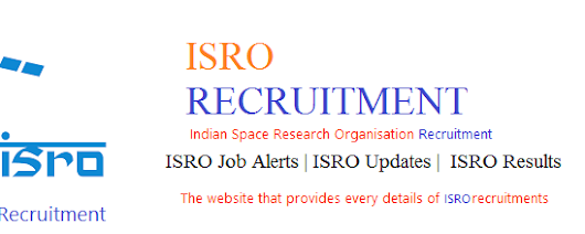 ISRO Recruitment | ISRO Job Alerts | ISRO Updates | ISRO Results: ISRO LPSC Recruitment 2017-18 Recruitment of Technical Assistant & Various Posts