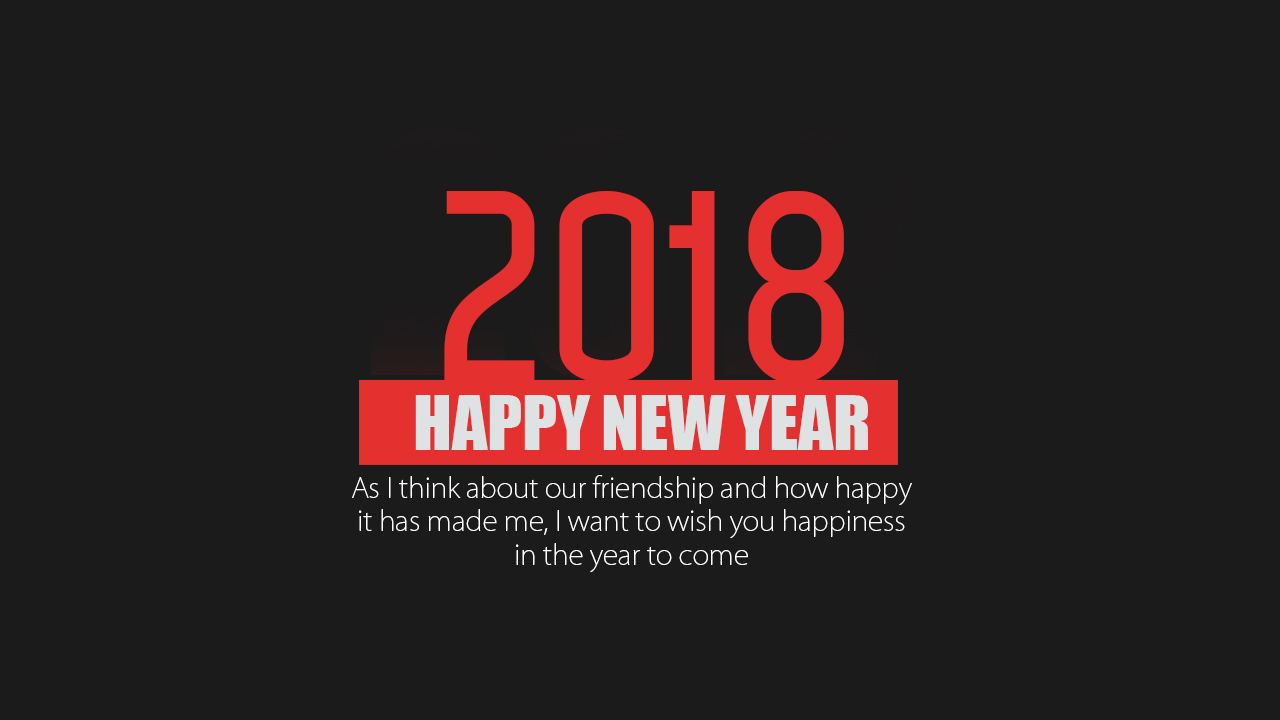 Beautiful 2018 New Year Pictures