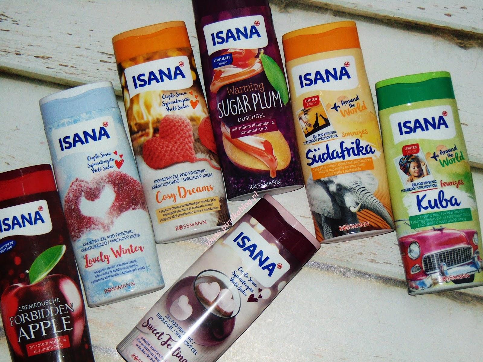 Limitowane zapachy Isana