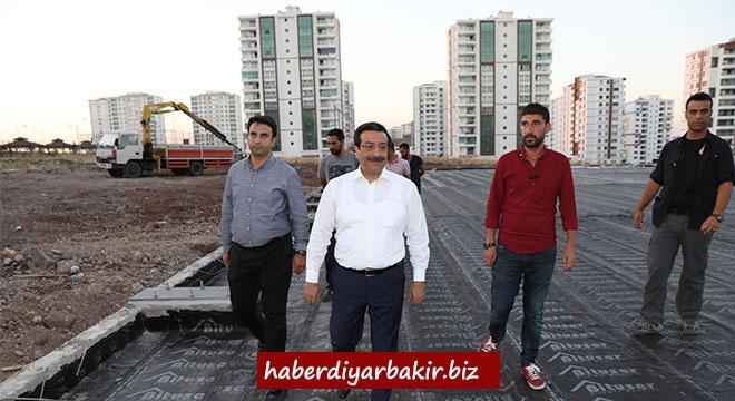 Cumali Atilla, Diyarbakır Büyükşehir Belediyesinin çalışmalarını denetledi