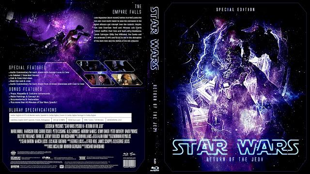 Star Wars: Episode VI - Return of the Jedi Bluray Cover