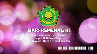Lirik dan Lagu Mars Kemenag RI