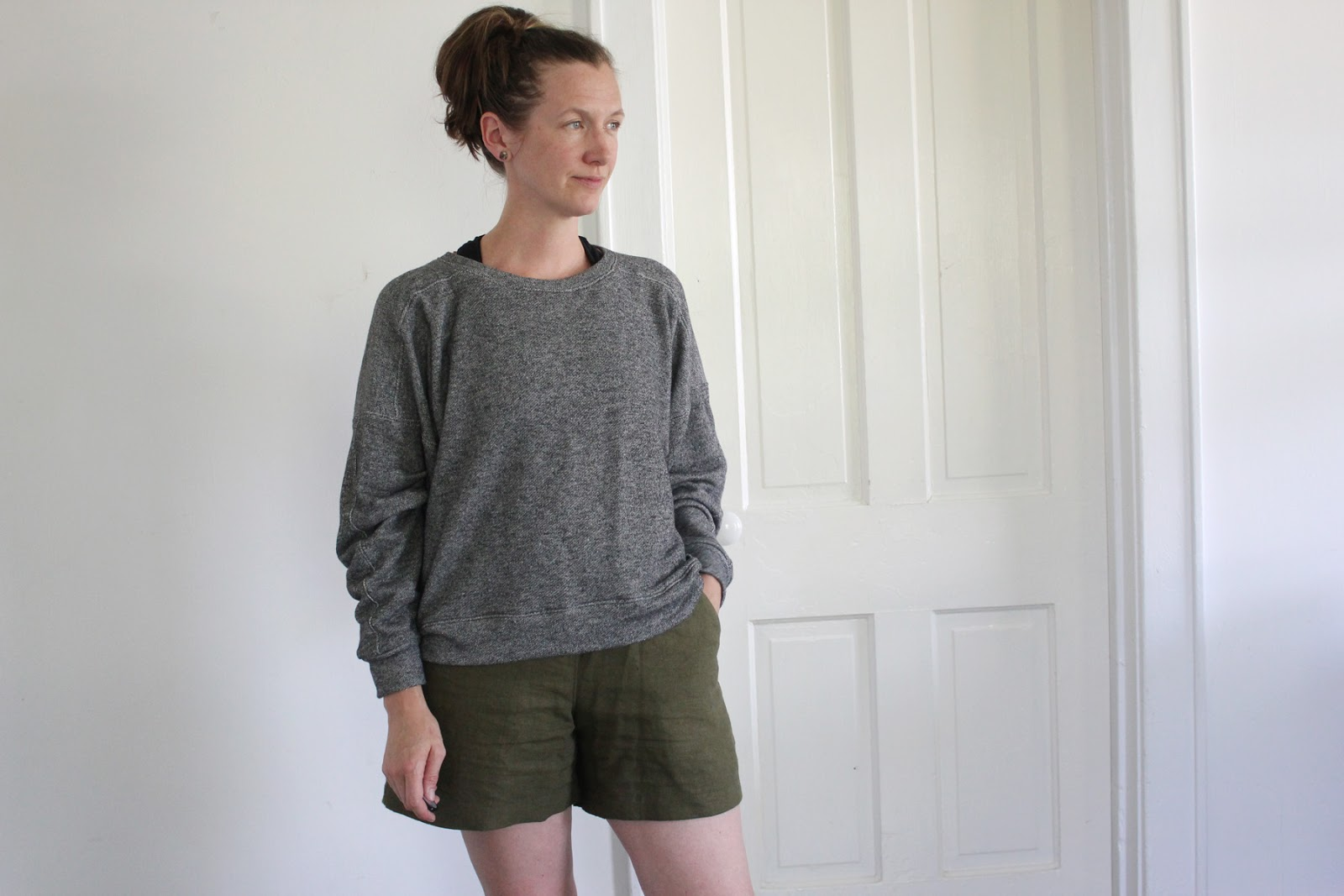 SweetKM: The New Ali Sweatshirt Sewing Pattern From Sew DIY
