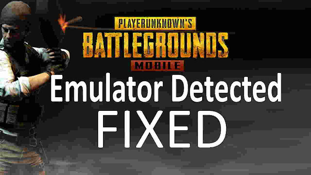 How To Fix PUBG Mobile Emulator Detected(solved)