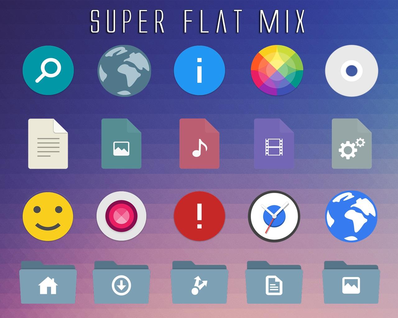 Windows Customs: Super Flat Mix