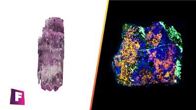 9 minerales fluorescentes mas impresionantes que existen