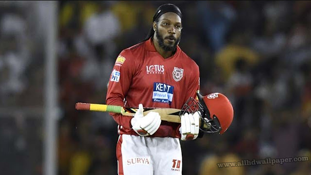 Batting Wallpapers In Chris Gayle
