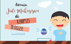 Berasa Jadi Mahasiswa di Kampus Blogger