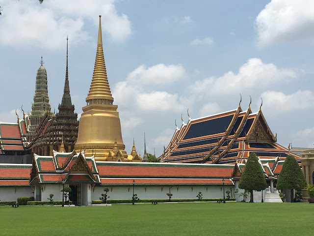 Wat Phra Kaew and Grand Palace in Bangkok, Thailand