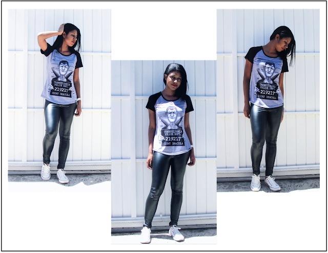 Foto 2 - look do dia (camiseta Eztranhos)
