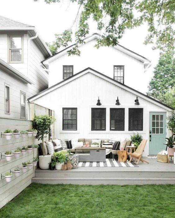Favorite modern farmhouse outdoor space