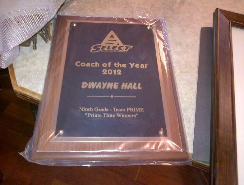 atlanta select atlanta select coach of the year 2012 dwayne hall