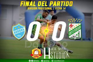 Aurora y Oriente Petrolero empara 0 a 0 en Cochabamba - DaleOoo
