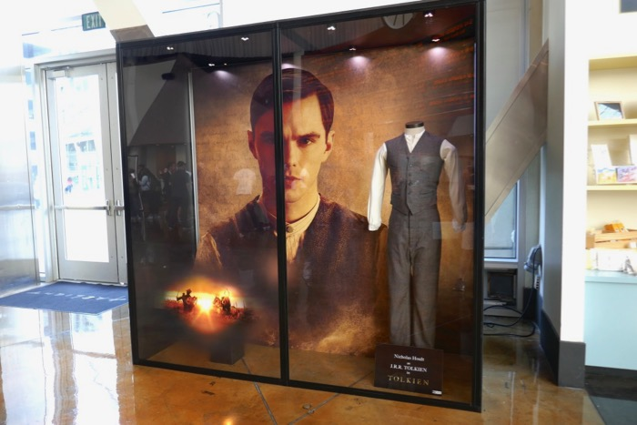 Tolkien movie costume exhibit