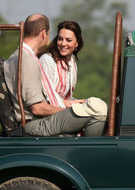 Prince William and Duchess Catherine Kate Middleton Safari tour  Kaziranga National Park