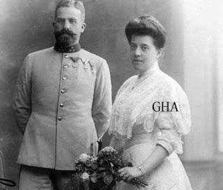 Ludwig de Saxe-Cobourg et Gotha et Anna von und zu Trauttmansdorff-Weinsberg