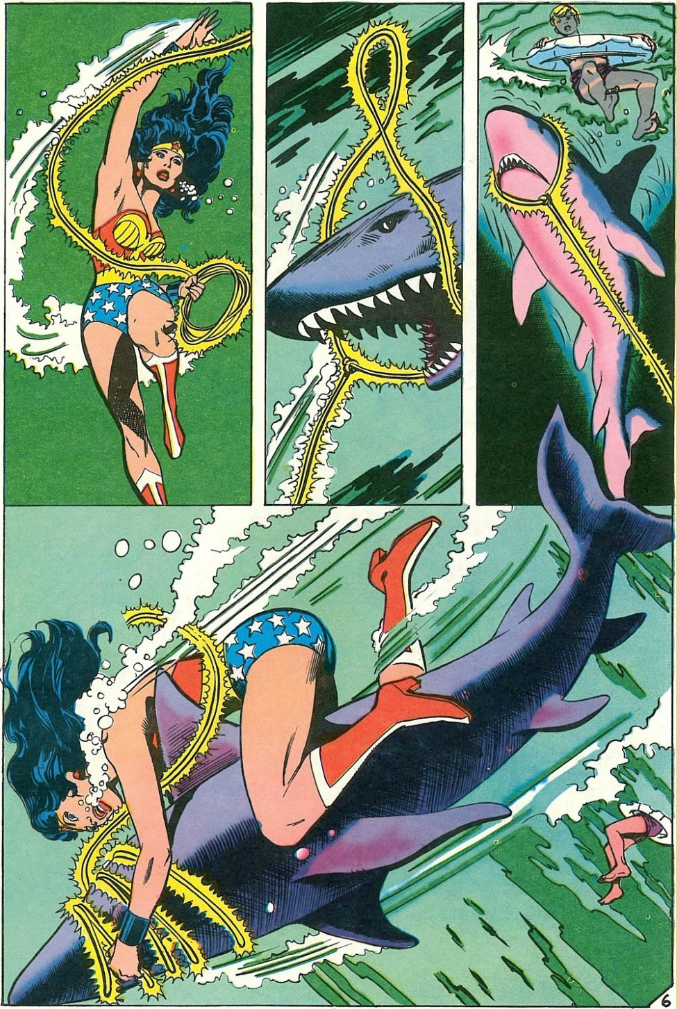 Extraordinary World Of Animeunderwater Wonder Woman The -3899