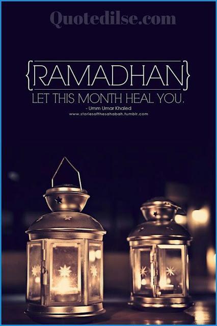 ramadan greetings in english