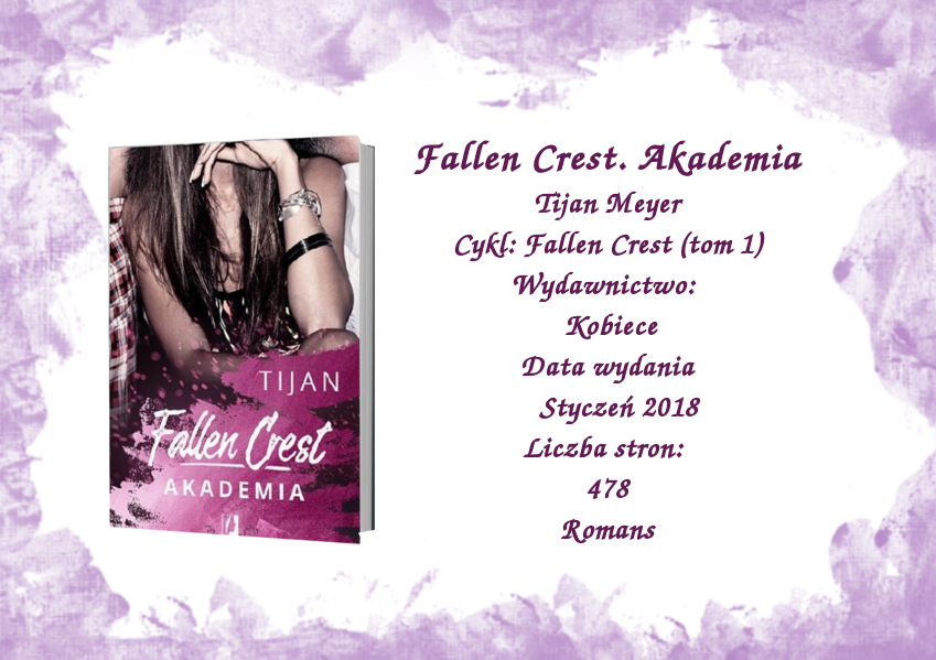 Falen Crest. Akademia - Tijan