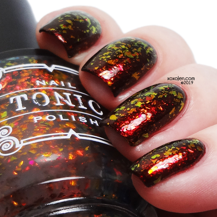 xoxoJen's swatch of Tonic Blood on my Hands