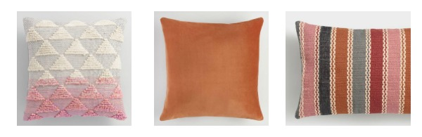Pattern + Solid + Lumbar pillow combination