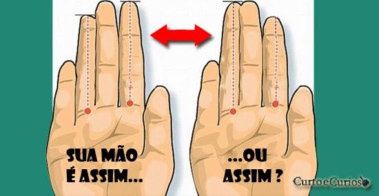 as mãos podem revelar personalidade