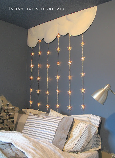 kid's bedroom headboard unique