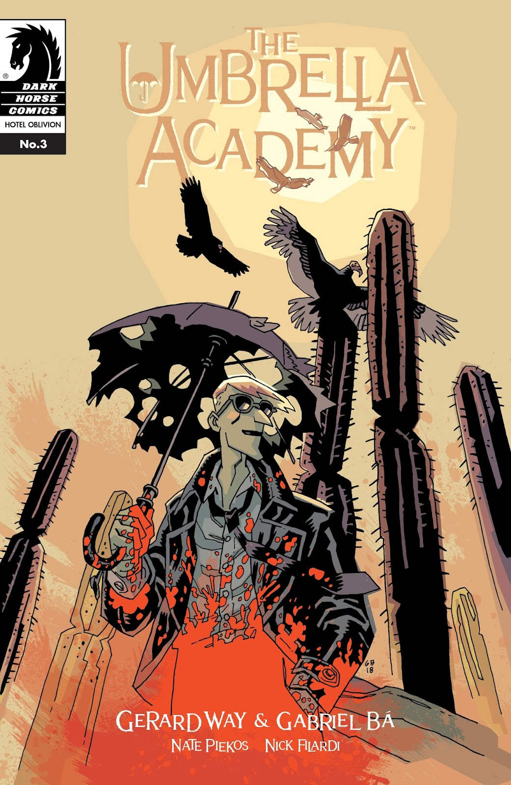 The Umbrella Academy: Hotel Oblivion issue 3 - Page 1
