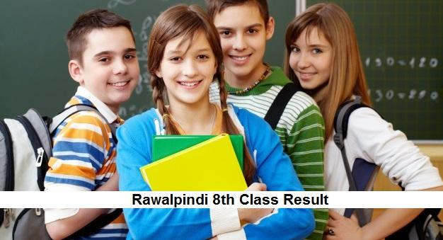 Rawalpindi 8th Class Result 2019 PEC - BISE Rawalpindi Board Results