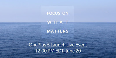 OnePlus 5 to launch on June 20