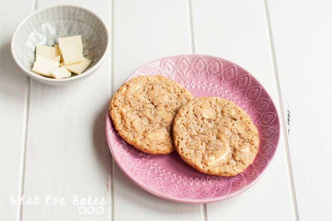 Cookies de chocolate blanco de Lorraine Pascale