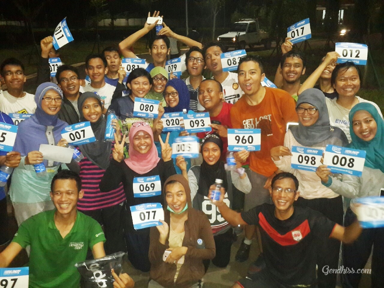 night run bersama RunLyss Team