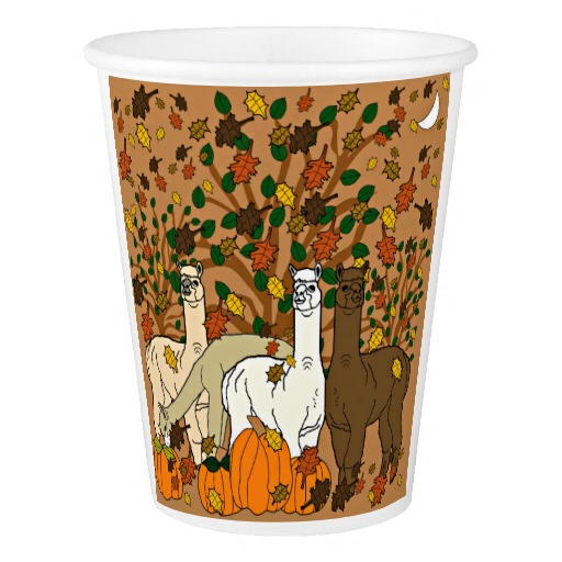 Alpacas Rock Thanksgiving Home Decor