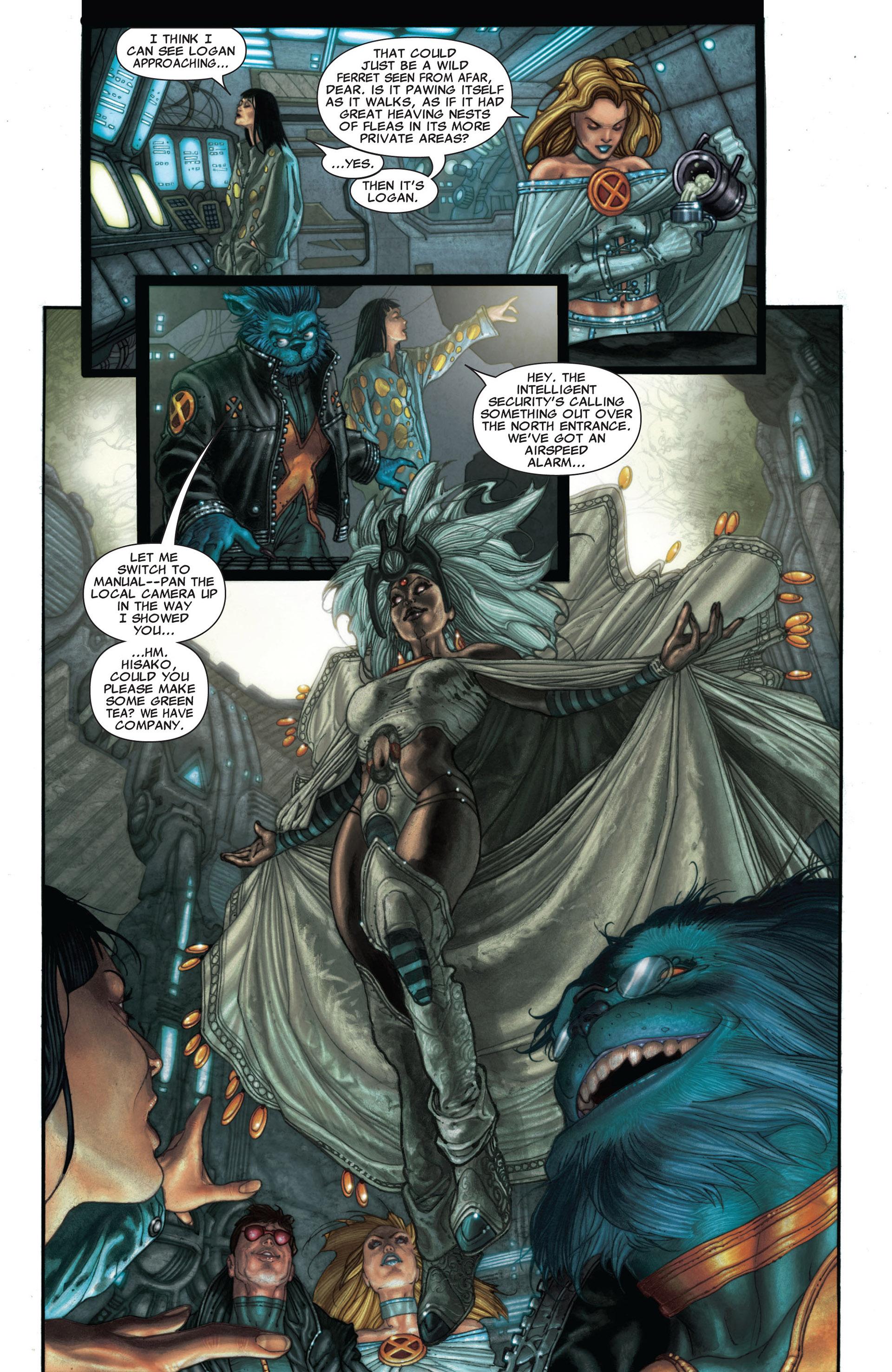 Read online Astonishing X-Men (2004) comic -  Issue #25 - 10
