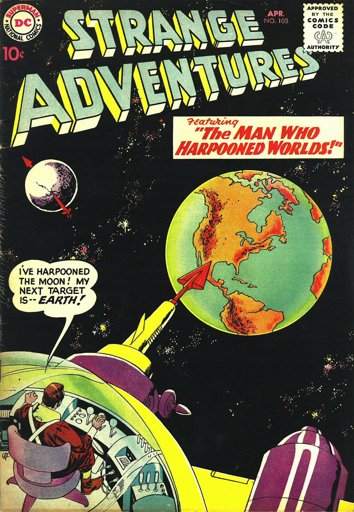 Strange Adventures (1950) issue 103 - Page 1