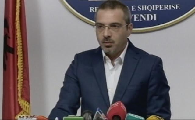 Former Interior Minister of Albania Saimir Tahiri is arrested