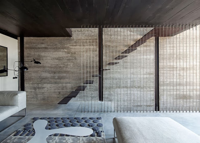 Pitsou kedem jaffa house tel aviv arc art blog by for Scala in cemento armato a vista