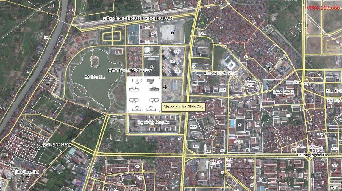 Vị trí An Bình City