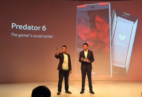 Acer Predator 6 launching event